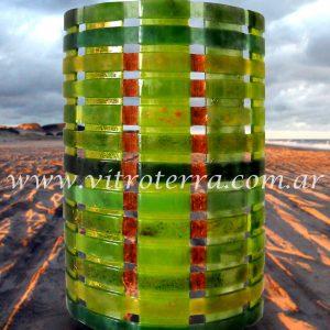 Lámpara de vidrio modelo Amazonas