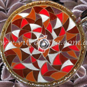 Bacha circular de vidrio Apalache