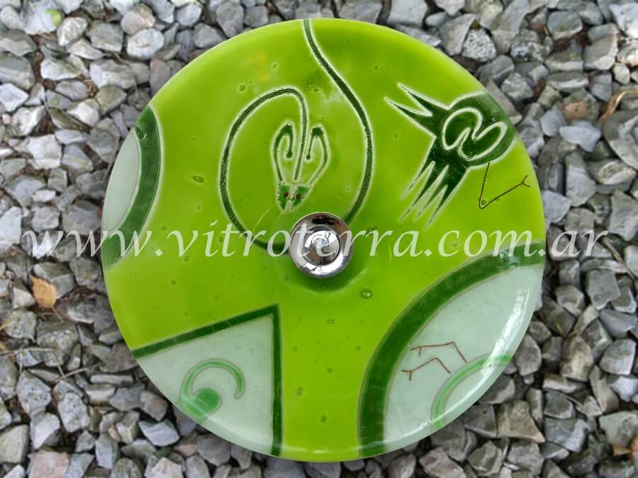Bacha circular de vidrio Australis