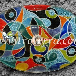 Bacha oval de vidrio Beau