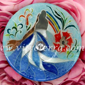 Bacha circular de vidrio BP-Elisa&Francis