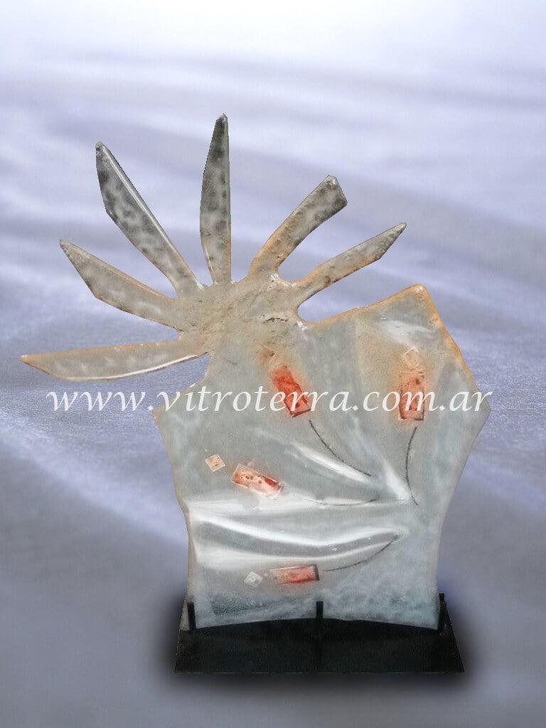 Escultura de vidrio modelo Fashion