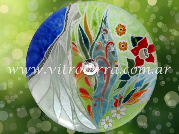 Bacha circular de vidrio BP-La-Novia