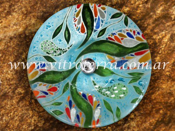 Bacha circular de vidrio BP-Lecho-de-Sirena