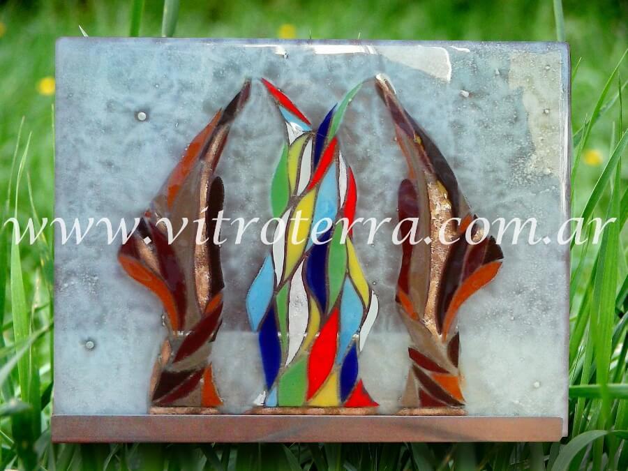"""Escultura de Vidrio modelo Los Alquimistas"""""""
