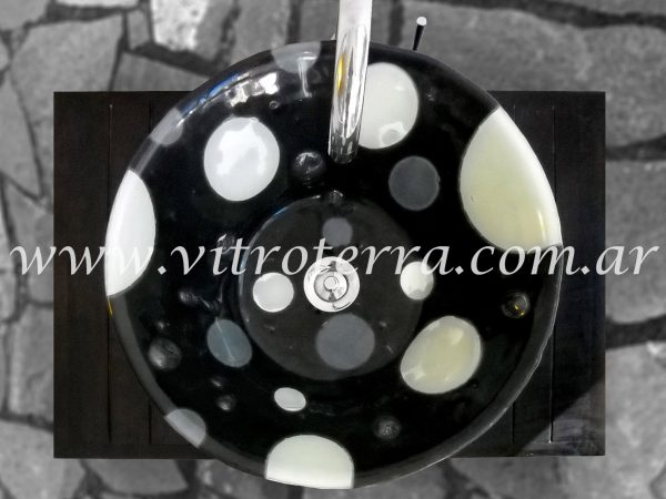 Bacha circular de vidrio BP-Luna-Invernal