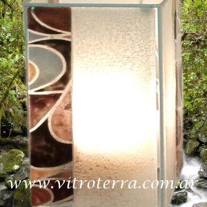 Lámpara de vidrio modelo Pucci