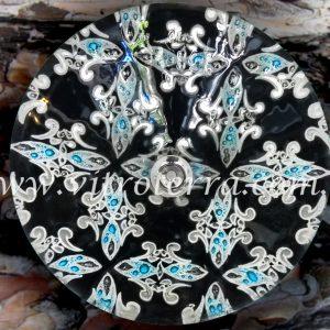 Bacha circular de vidrio Túnez