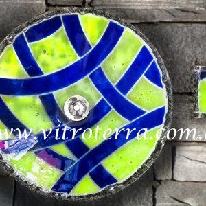 Bacha circular de vidrio Úrsula