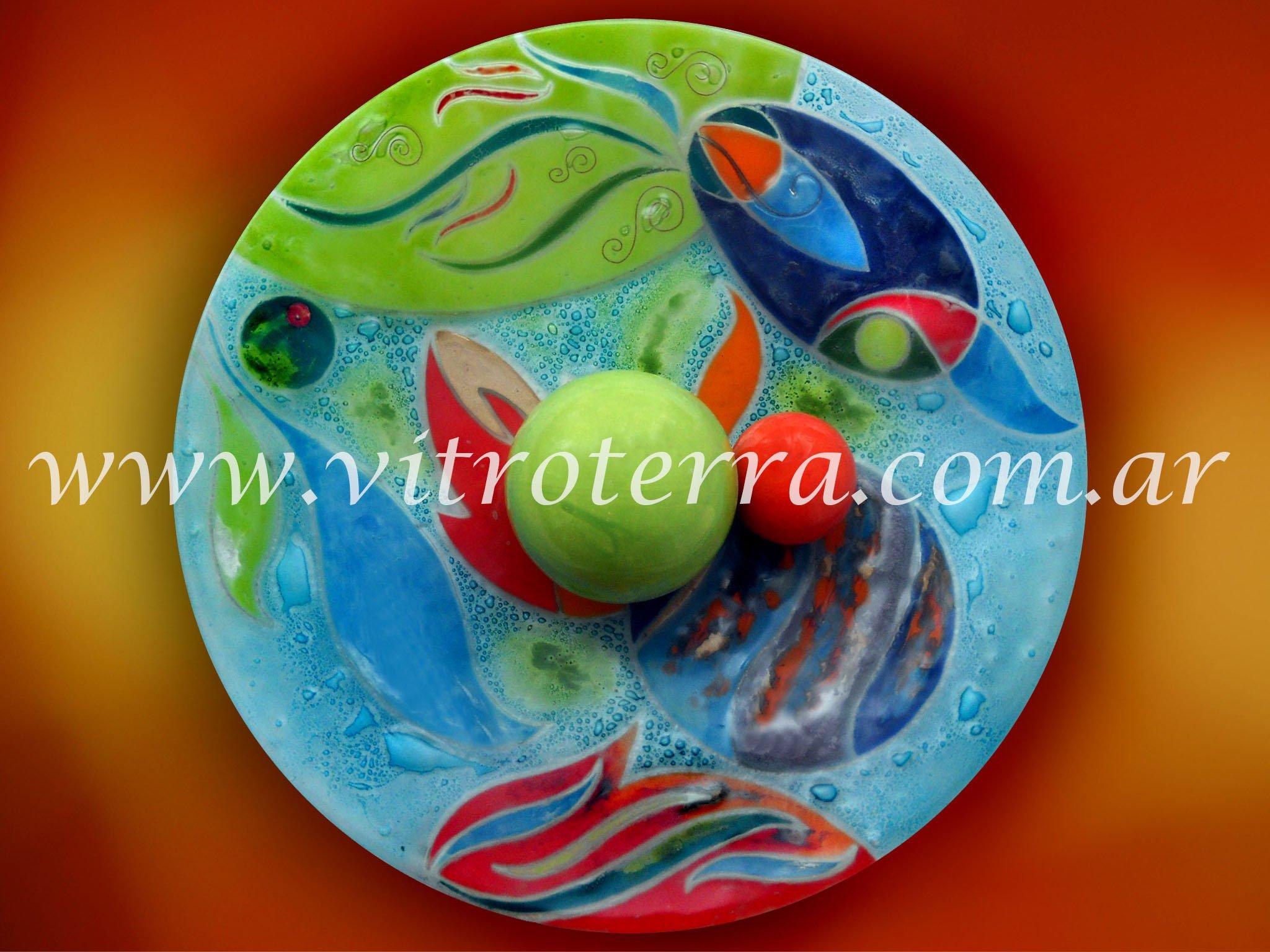 Centro circular de vidrio Vida-Submarina